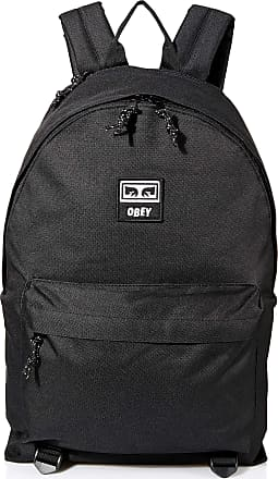 Obey Mens Takeover Day Pack Backpacks, Black, One size