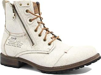 Zariff Bota Coturno Masculino Zariff Shoes Rock Couro