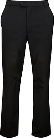 Glenmuir Mens MT7448 Technical Water Repellent Winter Golf Trousers Black Regular 34