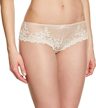 Wacoal Womens Embrace Lace Shorty Tanga Floral Hipster, Beige, Medium
