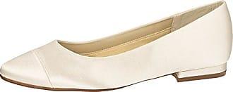 Gabor Schuhe, Ballerina Hochzeitsschuhe 4,5 (37,5) in weiß