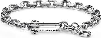 Thomas Sabo Thomas Sabo bracelet silver-coloured A1789-637-21-L20V