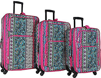 World Traveler 3-Piece Rolling Expandable Spinner-Bohemian