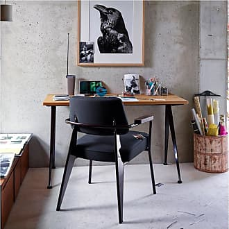 Vitra Fauteuil Direction Armchair Chocolate Base