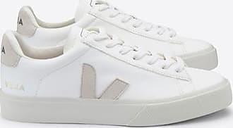Veja Campo Turnschuhe Weißes Leder ohne Chrom - UK10/44