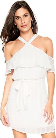 Colcci Vestido Colcci Curto Laise Branco