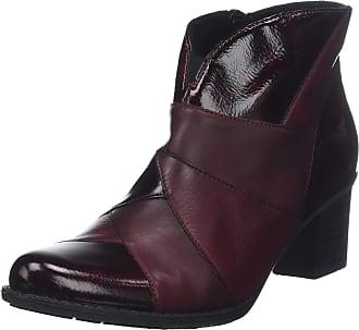 Rieker Womens Z7676 Ankle Boots, Red (Burgundy 35), 6.5 UK 40 EU
