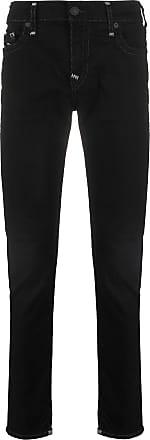 True Religion Calça jeans skinny com cintura média - Preto