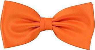 PUCCINI Einfarbige Fliege Herren Hochzeit /& Alltag Orange verschiedene Farben Handarbeit Satin-Schimmer Mikrofaser