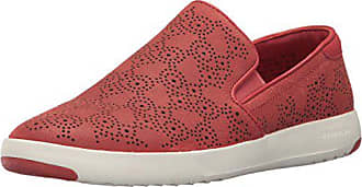 3882f625c98 Cole Haan Womens Grandpro Paisley Perforated Slip On Slip-On Loafer New  Mineral Red 7. In high demand