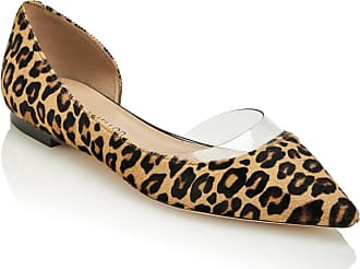 Tamara Mellon Darling Leopard Haircalf Flats, Size - 35.5
