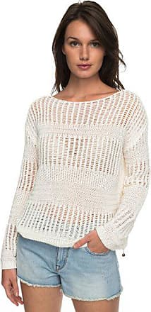 02c0563d439 Roxy Blush Seaview - Pull col rond pour Femme - Blanc - Roxy
