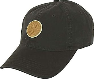 fabe982a Timberland Mens Cotton Canvas Baseball Cap, Black/Logo Patch, one Size
