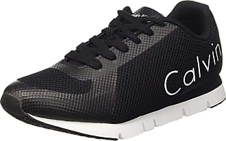 Calvin Klein Jeans Mens Jack Trainers Black Size: 8