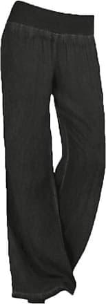 junkai Vintage Bootcut Trousers for Ladies, Women High Waist Yoga Pants Comfortable Wide Leg Pants Fashion Printing Flared Trousers Modern Casual Long Pants