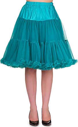 Banned Petticoat long emerald green - 23 inch length - XS/S - Dancing Days