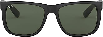 Ray-Ban RAY BAN Men 4165 Non-Polarized Sunglasses, Black ( Vidiros : Green Classic 601/71 )