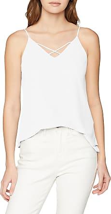 Pieces Womens Pckaysa Slip Top Noos Vest, White (Cloud Dancer Cloud Dancer), 14 (Size: Large)