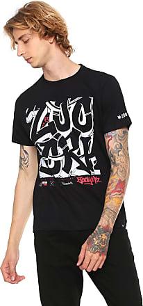 Zoo York Camiseta Zoo York Streets Type Preta