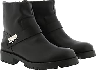 HUGO BOSS Boots & Booties - Victoria Biker Boots Black - black - Boots & Booties for ladies