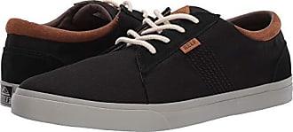 583c372b03acf Reef Mens Ridge TX Skate Shoe Black Tobacco 10.5 M US