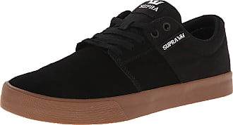 234851dc8f Supra Stacks Vulc Ii, Unisex Adults Low-Top Sneakers, Black (BLACK -