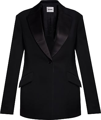 Jil Sander Wool Blazer Womens Black