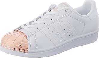 best authentic 34f37 784ad adidas Superstar Metal Toe By2882, Sneaker Donna, Bianco (White), 38 2