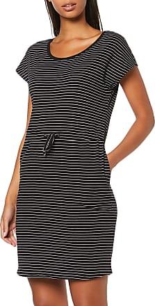 Vero Moda Womens Vmapril Ss Short Dress Ga Noos, Multicolour (Black Stripes: Snow-Rebecca), 16 (Size: X-Large)