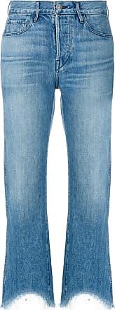3x1 Austin Cropped-Jeans - Blau