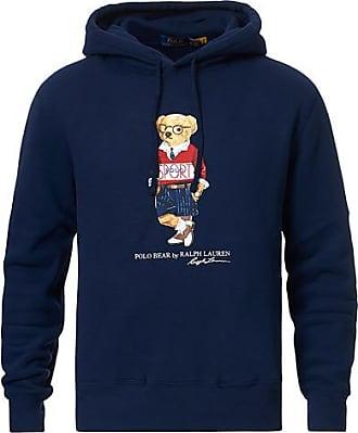 Polo Ralph Lauren Printed Sports Bear Hoodie Cruise Navy