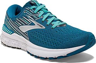 Brooks Womens Adrenaline Gts 19 Running Shoes, Blue (Blue/Aqua/Ebony 417), 4.5 UK