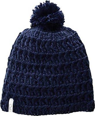 be1730fa677 Coal Womens Hand-Crocheted Waffle-Knit Beanie with Pom