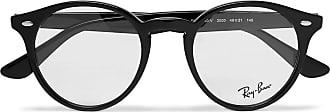Ray-Ban Round-frame Acetate Optical Glasses - Black