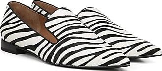 Franco Sarto Womens TOPAZ2 Loafer, Black White, 6.5 UK