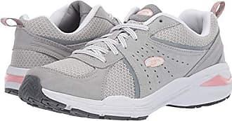 Dr. Scholls Womens Bound Sneaker, Grey Suede, 10 M US