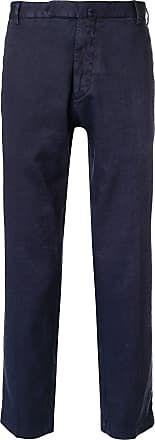 Dell'Oglio slim fit cropped trousers - Azul