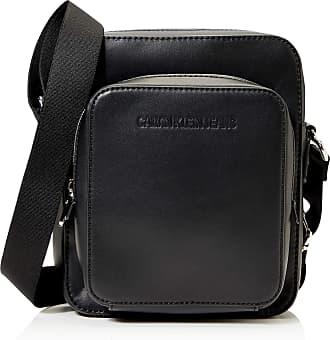 Calvin Klein Jeans CK JEANS Mens FLATPACK W/PCKT Crossovers, Black, OS CKJ LAYOVER
