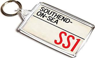 ILoveGifts KEYRING - Southend-on-Sea SS1 - UK Postcode Place Gift