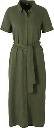 groene midi jurk object