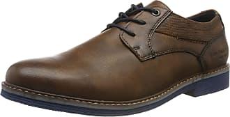 Tom Tailor Mens 7981101 Derbys, Brown (Cognac 00205), 10.5 UK