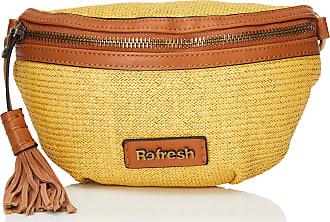 Refresh Refresh 83249 Womens Messenger Bag, Yellow (Amarillo), 24x16x3 Centimeters (W x H x L)