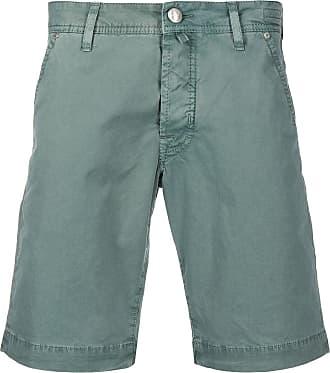 Jacob Cohen Bay green cotton bermuda shorts