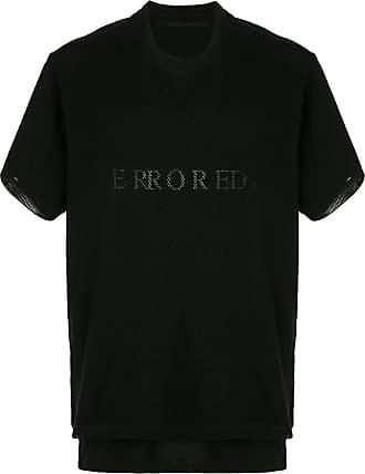 Julius Camiseta com sobreposição de mesh - Preto