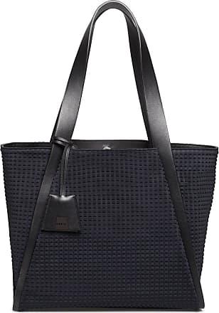 MQaccessories Medium Handbag in Techno Trapezoid Fabric