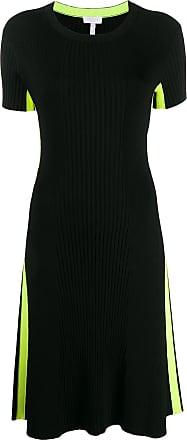 Escada Sport ribbed fitted dress - Preto