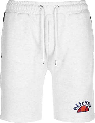 Ellesse Alfonsi Mens White Fleece Shorts L