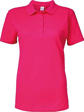 Gildan Gildan Softstyle Womens/Ladies Short Sleeve Double Pique Polo Shirt (XL) (Heliconia)