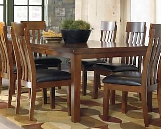 Ashley Furniture Ralene Dining Room Extension Table, Medium Brown