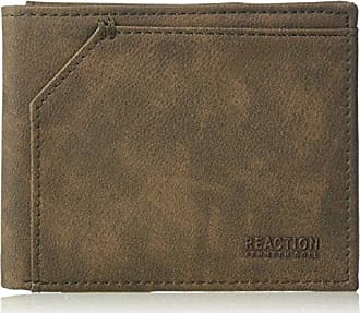 Kenneth Cole Reaction Mens Rfid Blocking Passcase Security Wallet